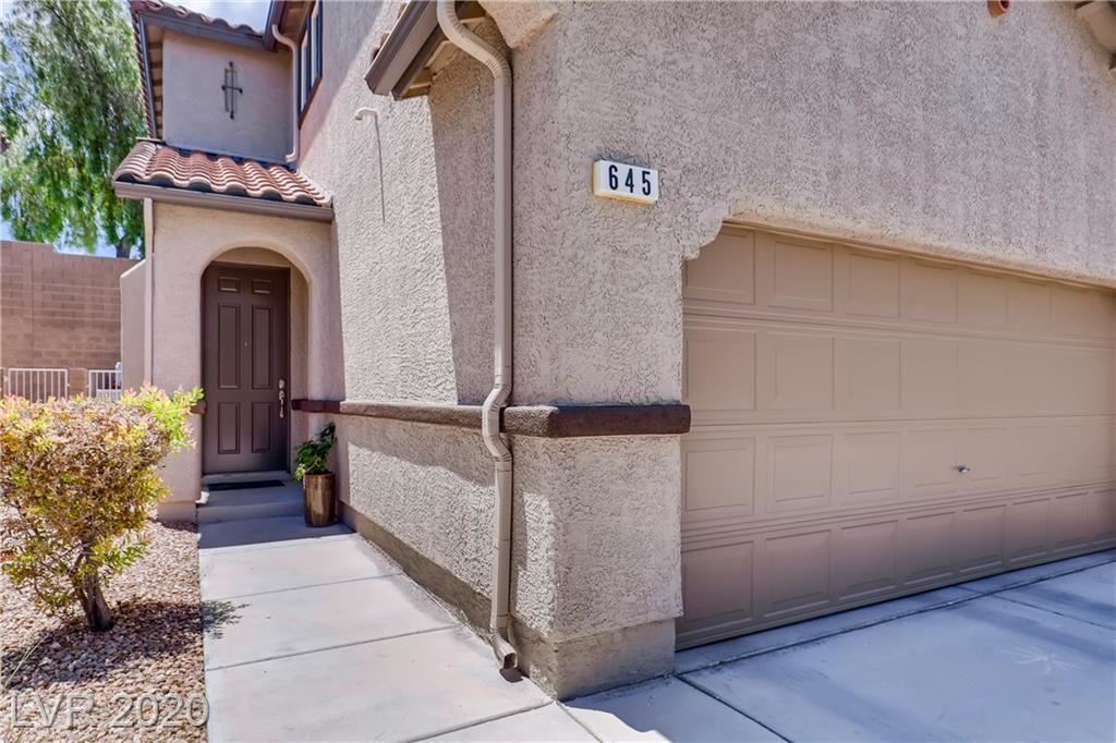 Photo of 645 Monument Point, Henderson, NV 89002 (MLS # 2202631)