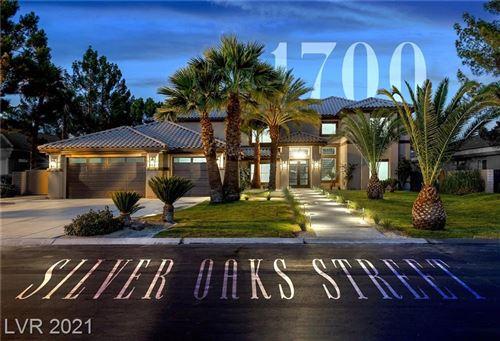 Photo of 1700 SILVER OAKS Street, Las Vegas, NV 89117 (MLS # 2307650)