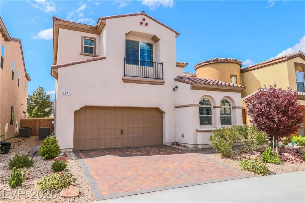 Photo of 671 Orchard Course, Las Vegas, NV 89148 (MLS # 2186661)