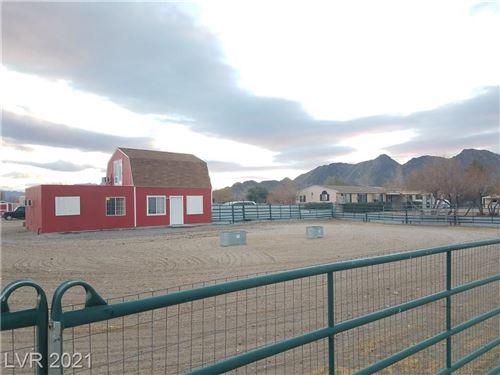 Photo of 3901 West Blosser Ranch Road, Pahrump, NV 89060 (MLS # 2258704)