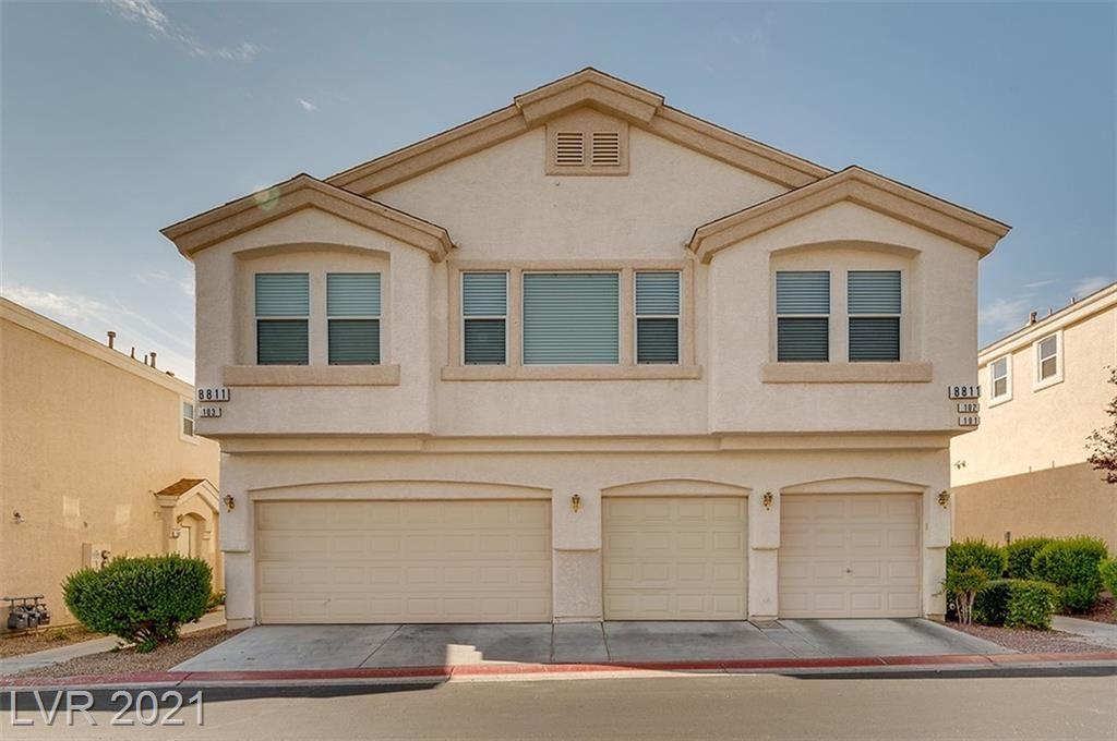 Photo of 8811 Tomnitz Avenue #103, Las Vegas, NV 89178 (MLS # 2327722)