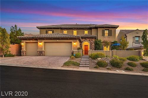 Photo of 2509 Pont Marie Drive, Henderson, NV 89044 (MLS # 2250732)