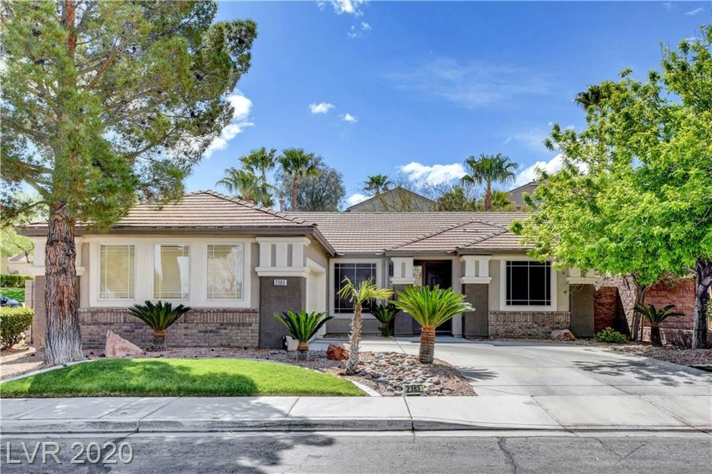 Photo of 2383 Stansbury Court, Henderson, NV 89052 (MLS # 2188743)