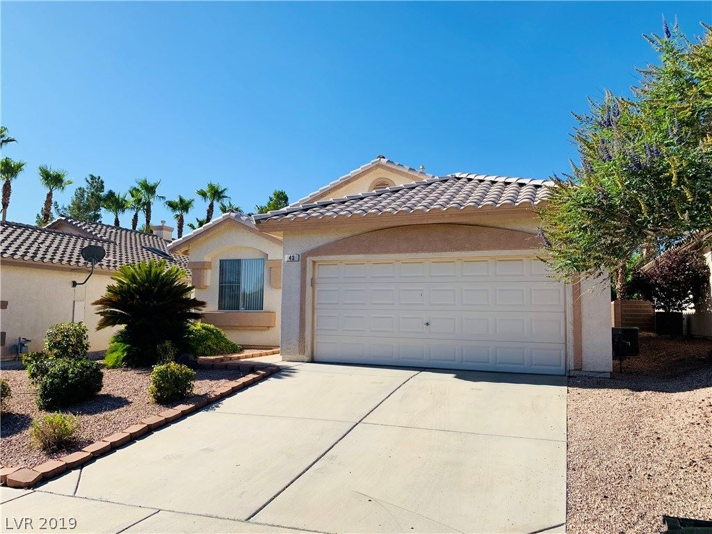 Photo of 43 PANGLOSS Street, Henderson, NV 89002 (MLS # 2124755)