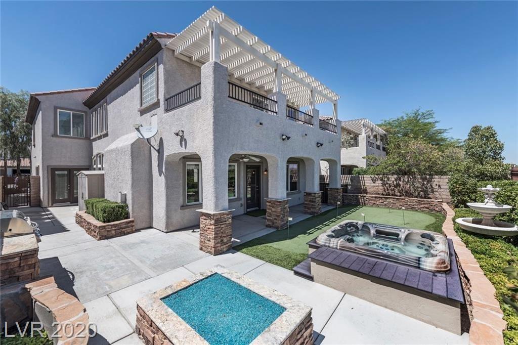 Photo of 12049 CIELO AMBER Lane, Las Vegas, NV 89138 (MLS # 2205758)