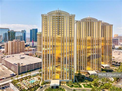 Photo of 145 East HARMON Avenue #1607, Las Vegas, NV 89109 (MLS # 2314760)