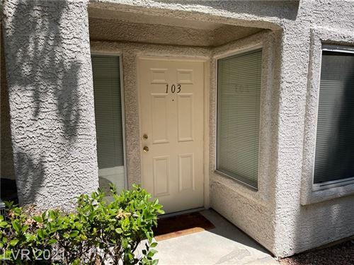 Photo of 5092 Mandalay Springs Drive #103, Las Vegas, NV 89120 (MLS # 2344769)
