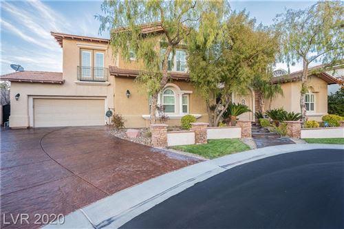 Photo of 11558 TREVI FOUNTAIN Avenue, Las Vegas, NV 89138 (MLS # 2199772)