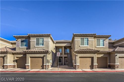 Photo of 6680 CAPORETTO Lane #103, North Las Vegas, NV 89084 (MLS # 2164776)