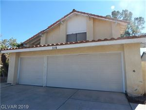 Photo of 318 Quito Court, Henderson, NV 89014 (MLS # 2139784)