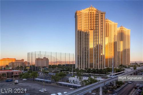 Photo of 135 East Harmon Avenue #2102, Las Vegas, NV 89109 (MLS # 2261795)