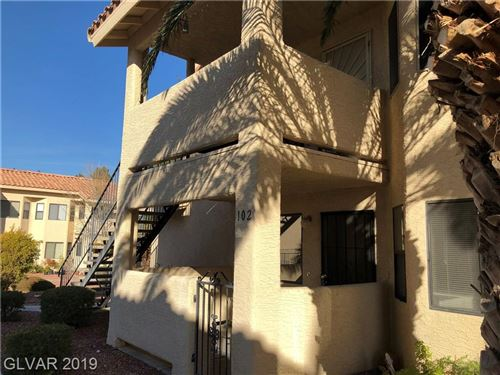 Photo of 1108 OBSERVATION Drive #102, Las Vegas, NV 89128 (MLS # 2157799)
