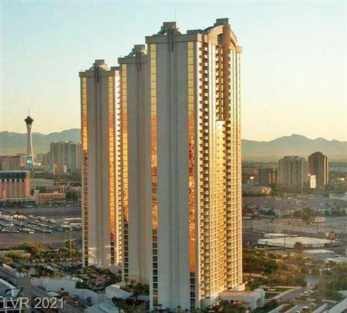 Photo of 125 Harmon Avenue #10814, Las Vegas, NV 89109 (MLS # 2261800)