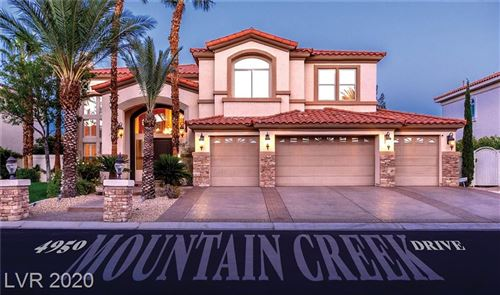 Photo of 4950 MOUNTAIN CREEK Drive, Las Vegas, NV 89148 (MLS # 2239821)