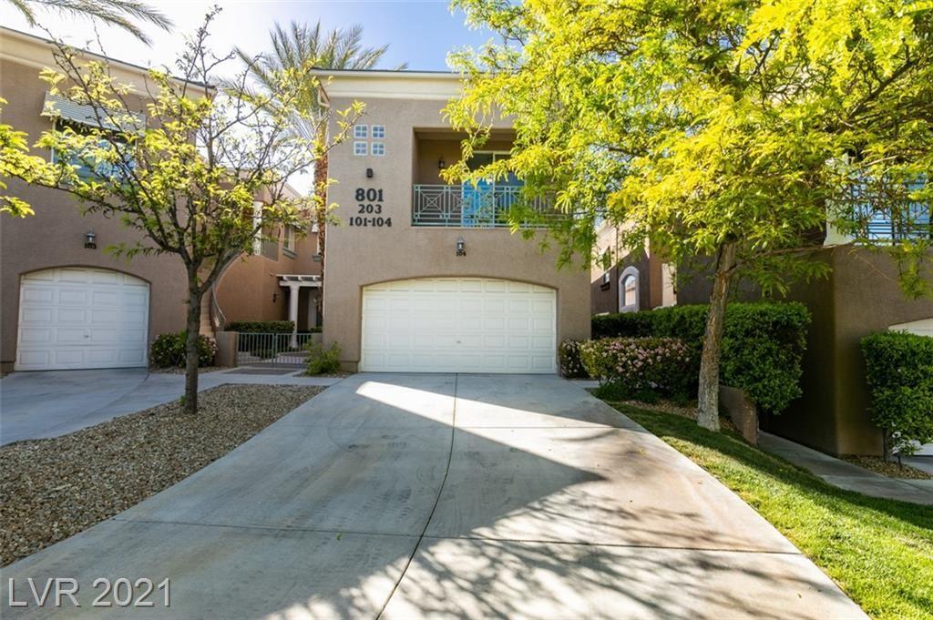 Photo of 801 Dana Hills Court #104, Las Vegas, NV 89134 (MLS # 2287825)