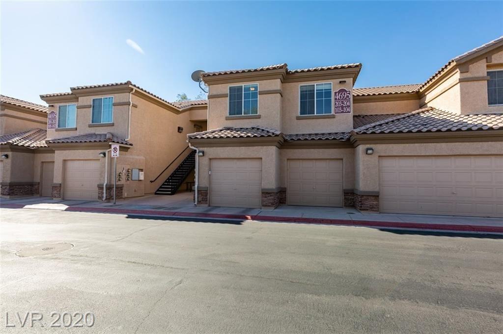 Photo of 4695 Centisimo Drive #203, North Las Vegas, NV 89084 (MLS # 2229826)
