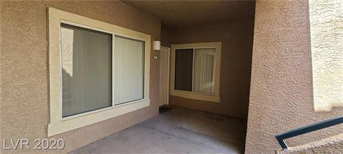 Photo of 2053 Jasper Bluff Street #104, Las Vegas, NV 89117 (MLS # 2232830)