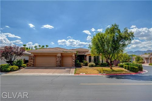 Photo of 2735 DESERT TROON Street, Las Vegas, NV 89135 (MLS # 2155836)