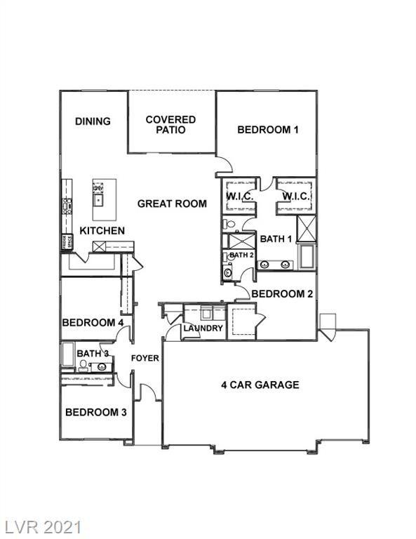 Photo of 5986 North Eula Street #Lot 2, Las Vegas, NV 89149 (MLS # 2317845)