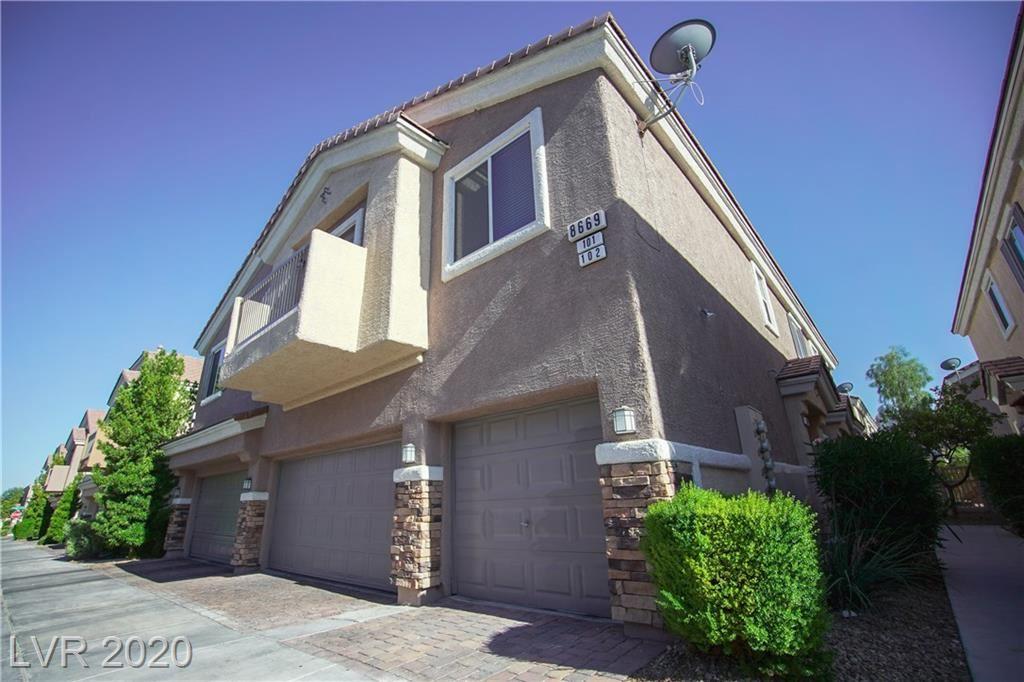 Photo of 8669 Horizon Wind Avenue #101, Las Vegas, NV 89178 (MLS # 2208847)
