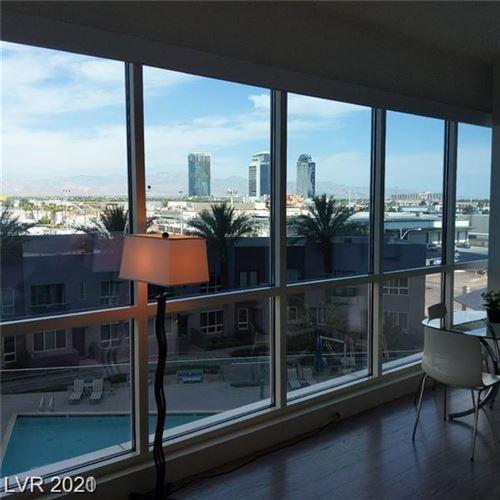 Photo of 4525 Dean Martin Drive #408, Las Vegas, NV 89103 (MLS # 2308867)