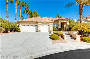 Photo of 8808 LUSSO Court, Las Vegas, NV 89134 (MLS # 2142873)