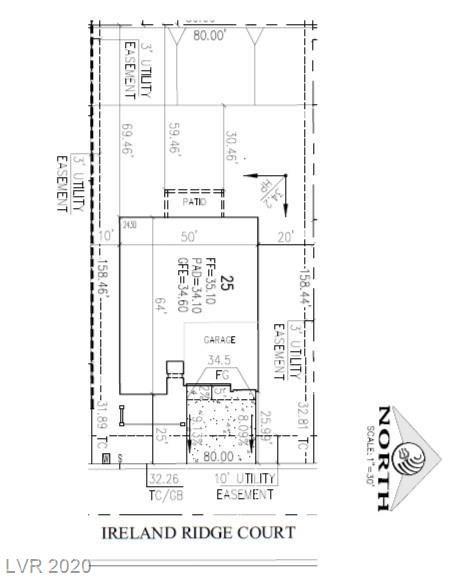 Photo of 5817 IRELAND RIDGE Street #Lot 25, Las Vegas, NV 89149 (MLS # 2202880)