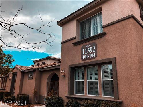 Photo of 11392 Belmont Lake Drive #102, Las Vegas, NV 89135 (MLS # 2314891)
