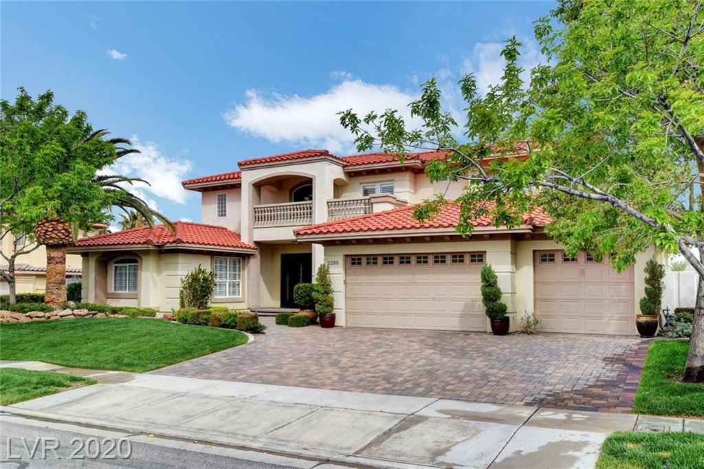 Photo for 2286 Feathertree Avenue, Henderson, NV 89052 (MLS # 2184896)