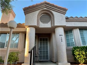 Photo of 1380 DI BLASI Drive #103, Las Vegas, NV 89119 (MLS # 2132902)