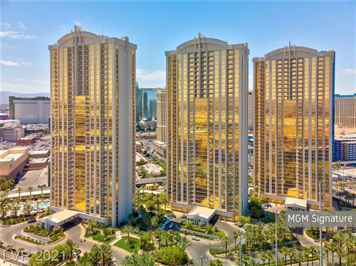 Photo of 135 East Harmon Avenue #3711, Las Vegas, NV 89109 (MLS # 2340909)