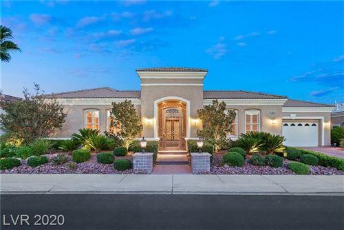 Photo of 4654 BERSAGLIO Street, Las Vegas, NV 89135 (MLS # 2229988)