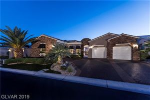 Photo of 4671 RIVA DE ROMANZA Street, Las Vegas, NV 89135 (MLS # 2114997)