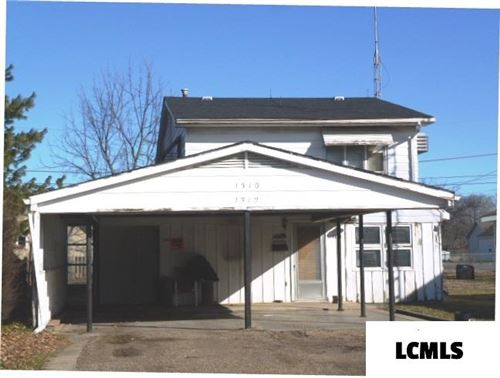Photo of 1310 - 1312 Short 8th Street, Lincoln, IL 62656 (MLS # 20200091)