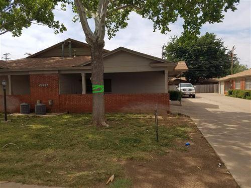 Photo of 4203 50th Street, Lubbock, TX 79413 (MLS # 202009038)