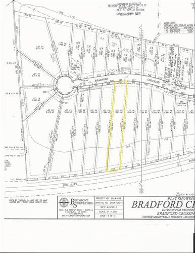 Photo of 0 Bradford Crossing Place #Lot 25, Goode, VA 24556 (MLS # 328146)