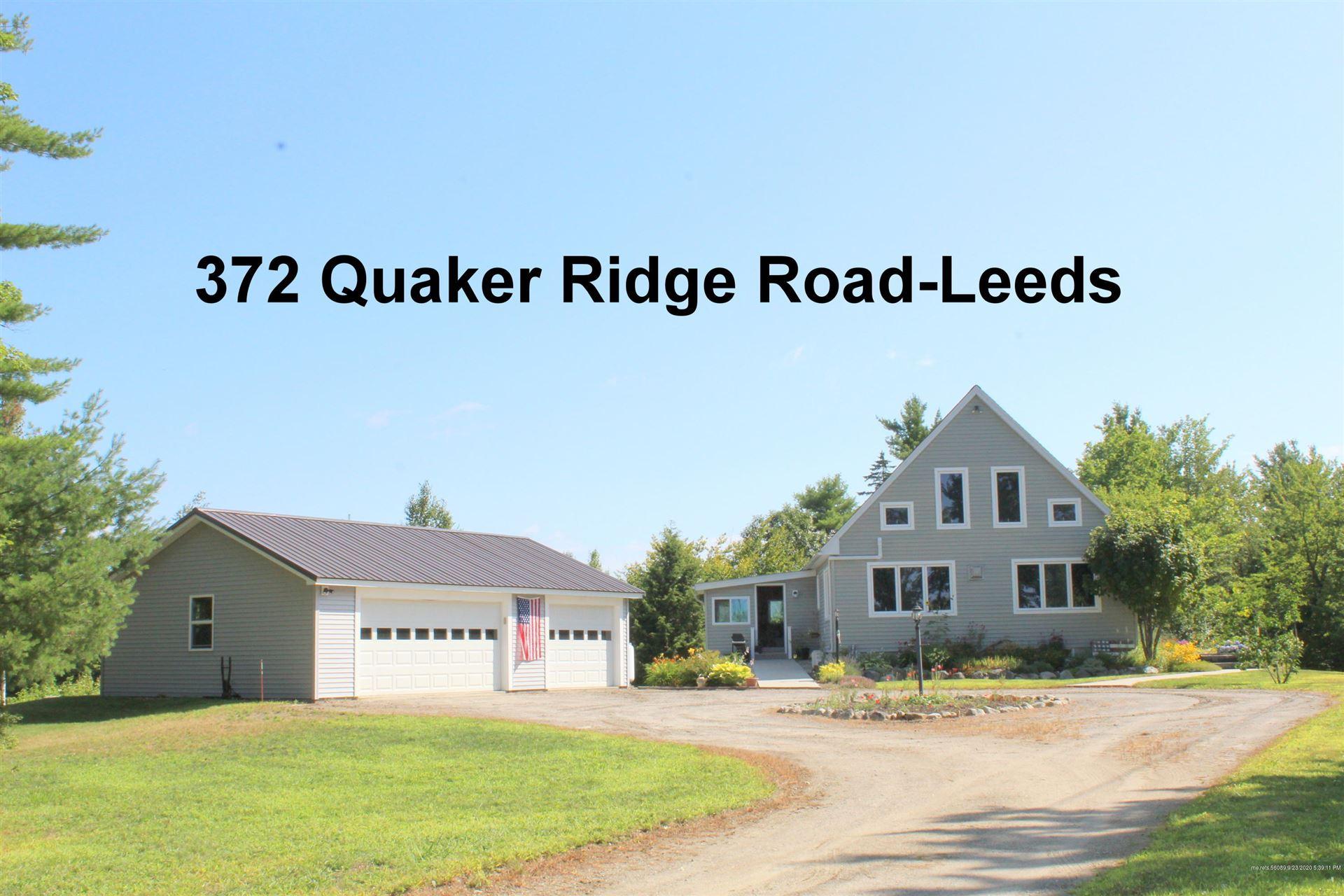 Photo of 372 Quaker Ridge Road, Leeds, ME 04263 (MLS # 1470004)