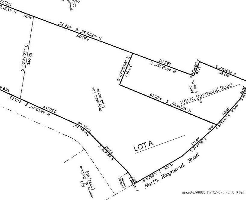 Photo of Lot A 200 North Raymond Road, Gray, ME 04039 (MLS # 1470072)