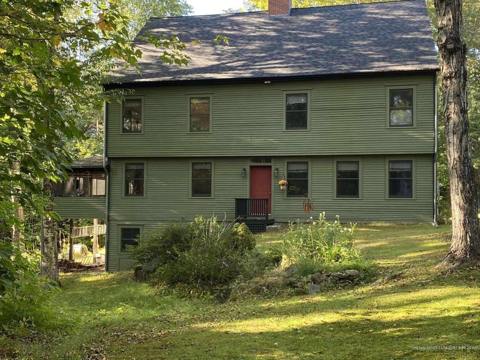 Photo of 846 Pond Road, Nobleboro, ME 04555 (MLS # 1474079)