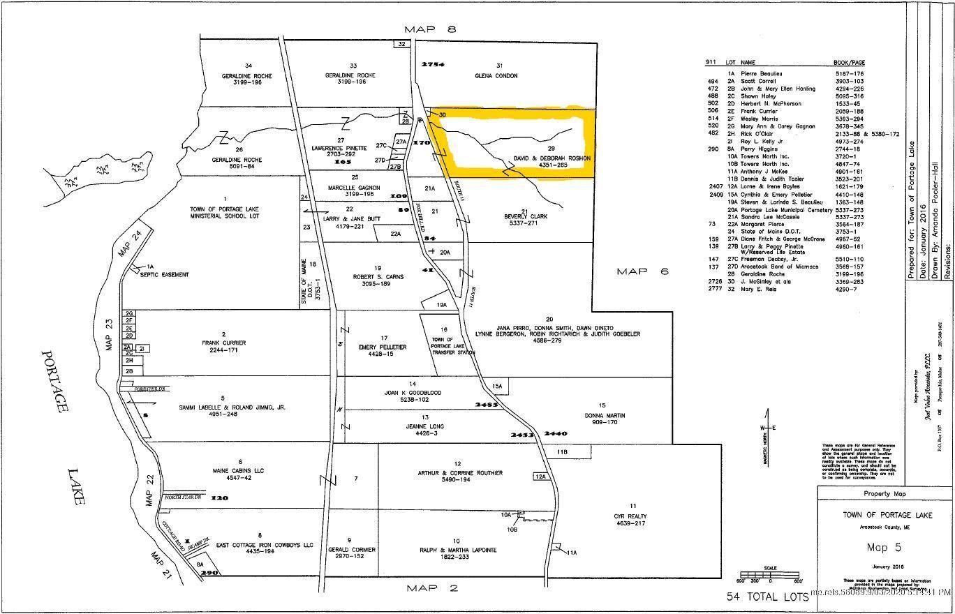 Photo of Map5 Lot29 Rte 11 Route, Portage Lake, ME 04768 (MLS # 1444089)