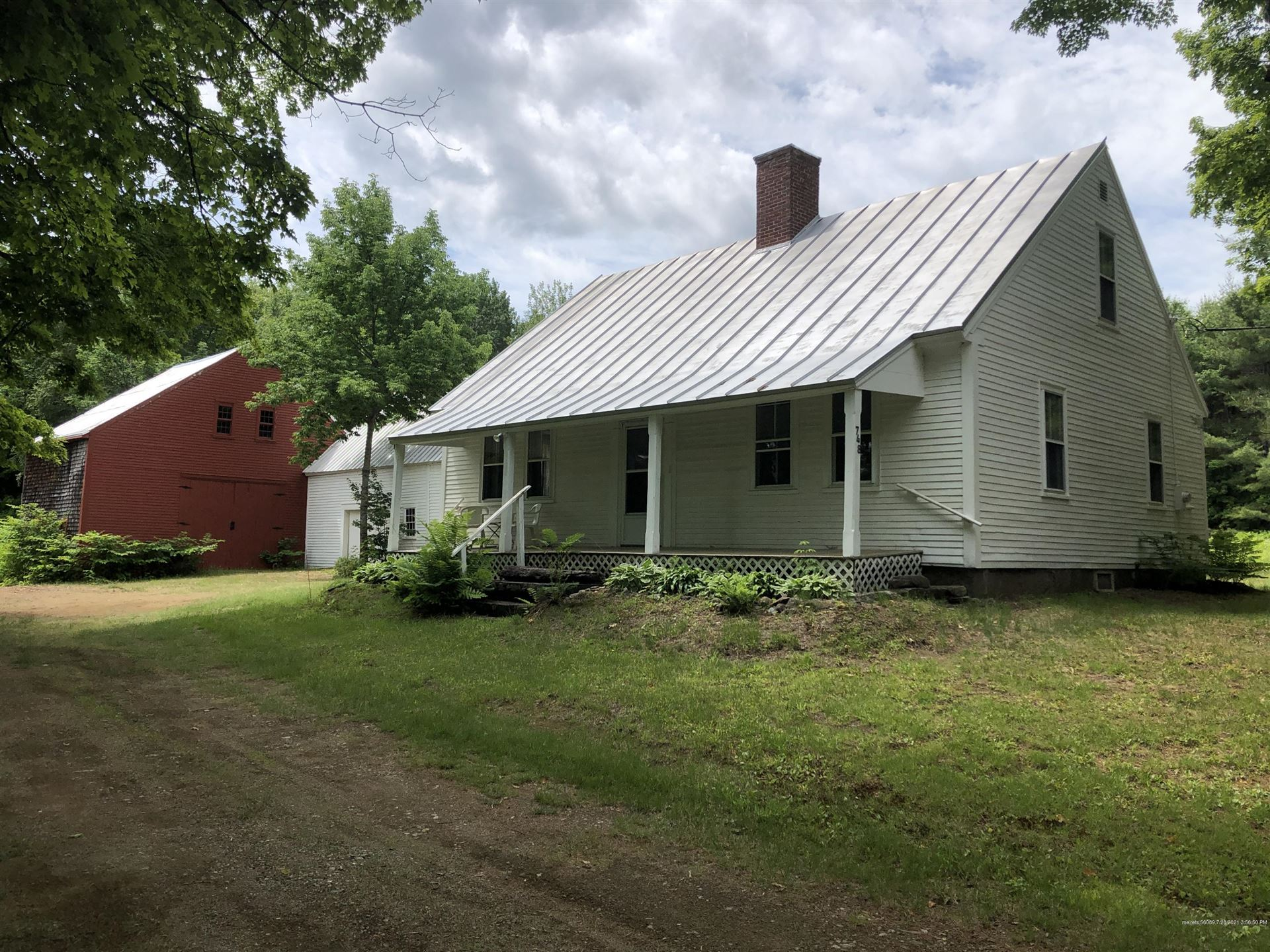 Photo of 748 Middle Road, New Portland, ME 04961 (MLS # 1497089)