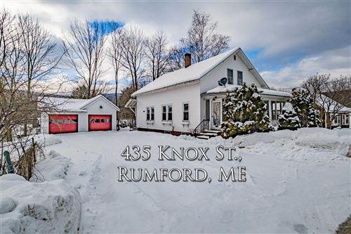Photo of 435 Knox Street, Rumford, ME 04276 (MLS # 1481122)