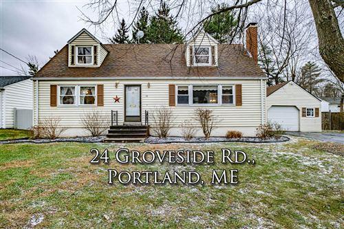 Photo of 24 Groveside Road, Portland, ME 04102 (MLS # 1477175)