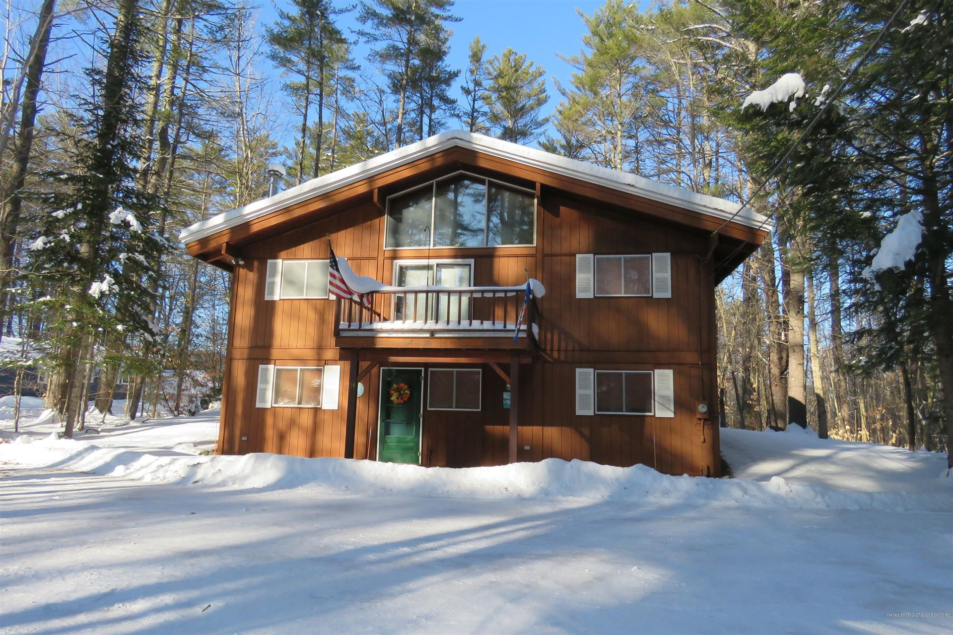 Photo of 54 Alpine Road, Bridgton, ME 04009 (MLS # 1443182)