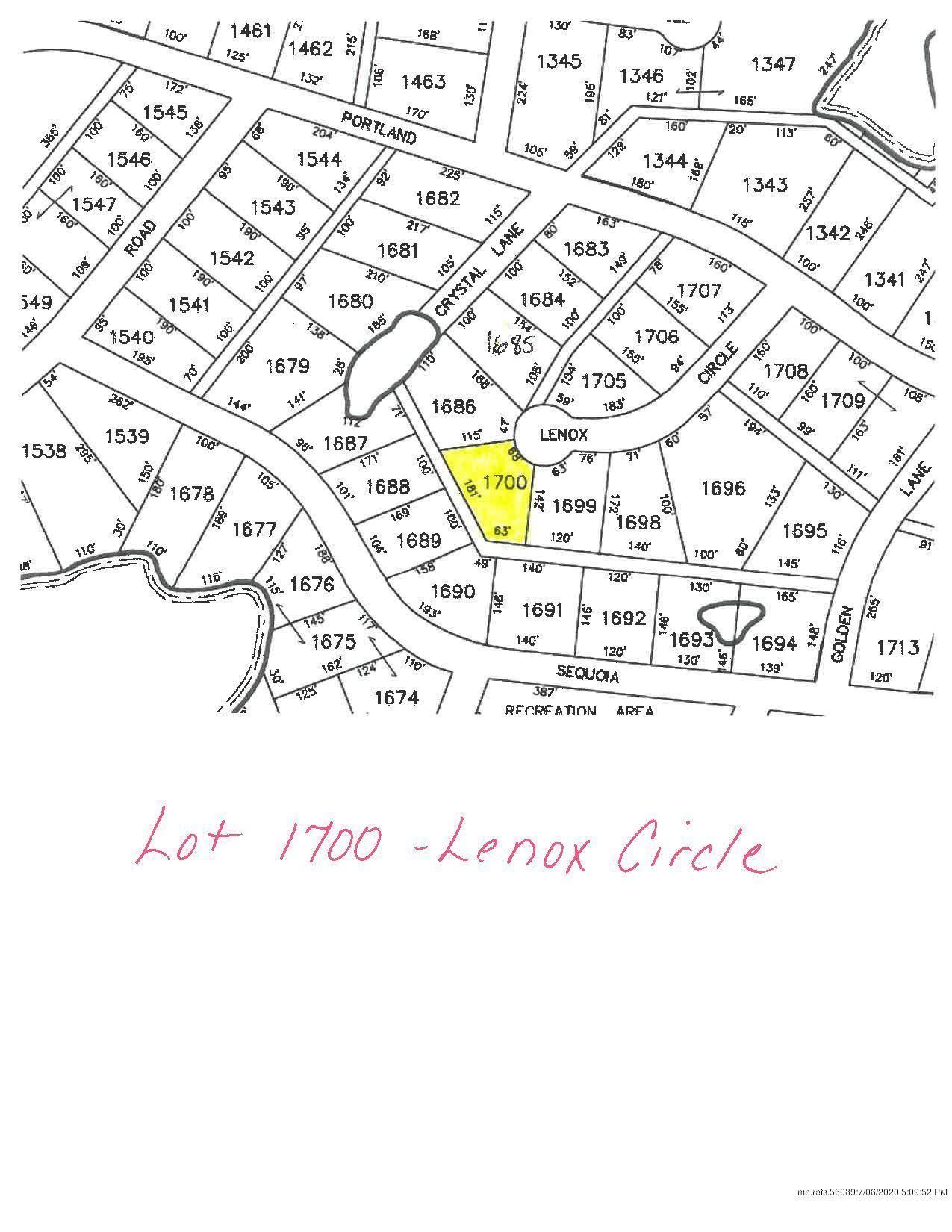 Photo of 00 Lenox Circle, Waterboro, ME 04061 (MLS # 1459183)