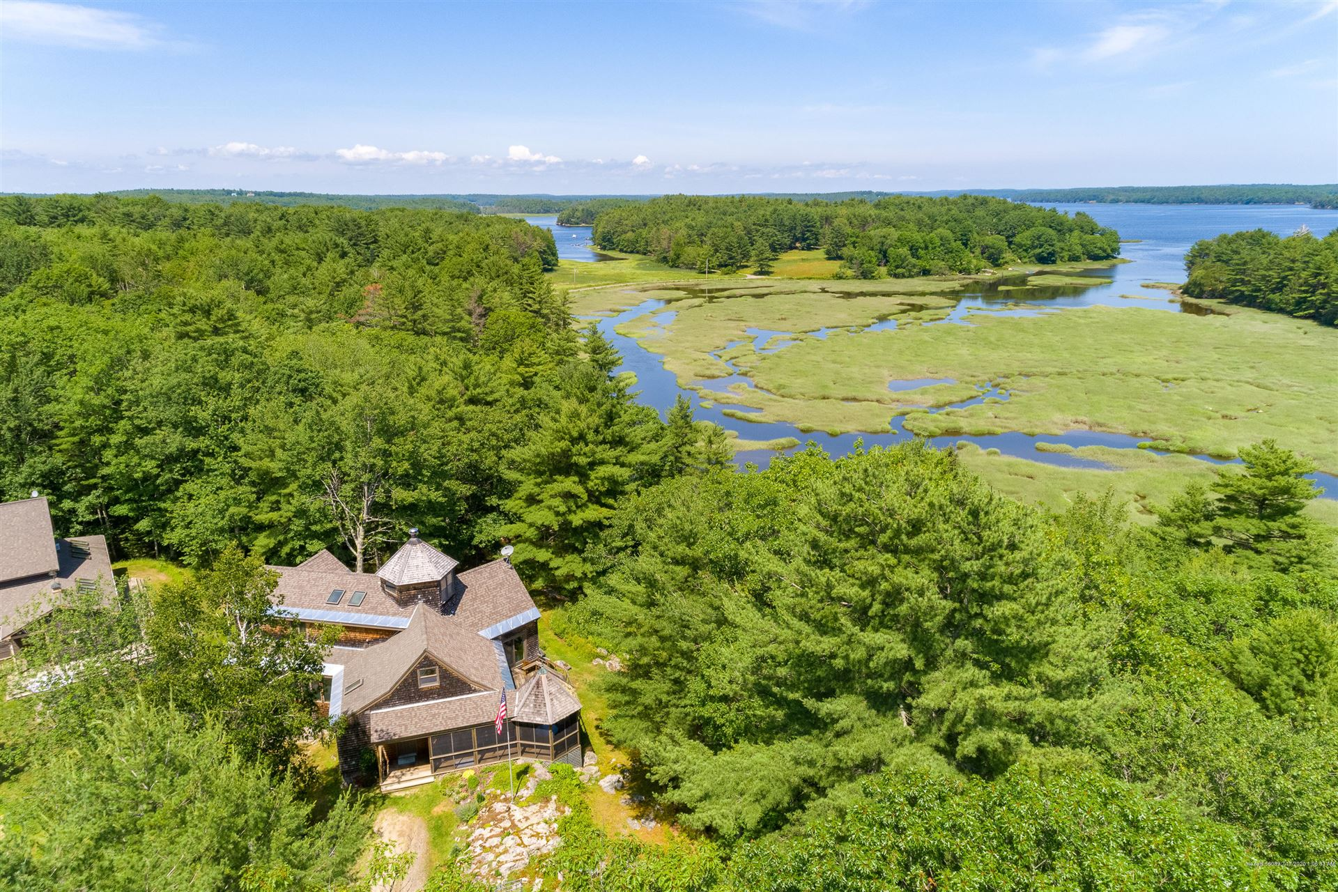 Photo of 344 Old Stage Road, Arrowsic, ME 04530 (MLS # 1459189)