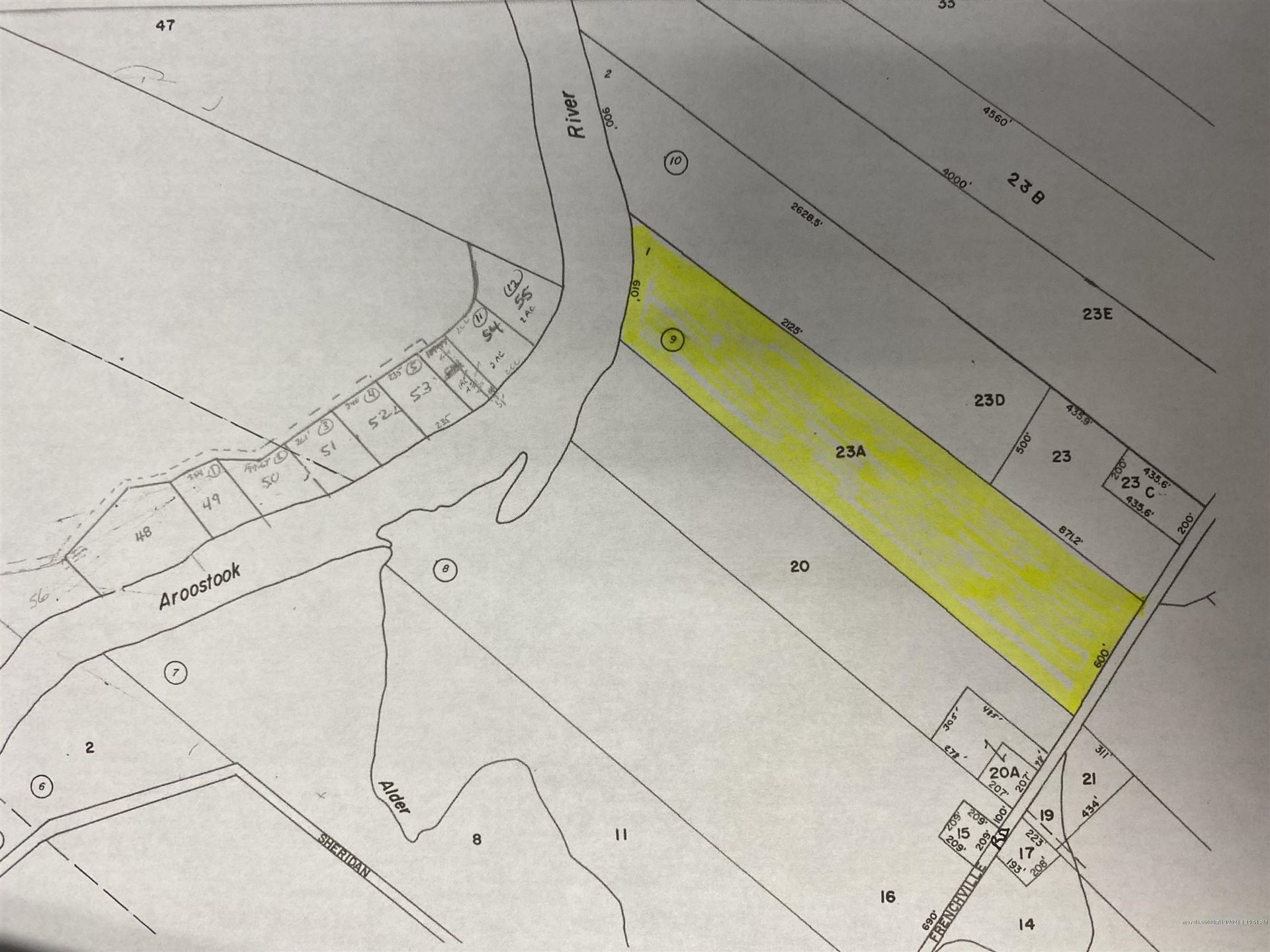 Photo of Map23Lot23 Frenchville Road Road, Ashland, ME 04732 (MLS # 1501213)
