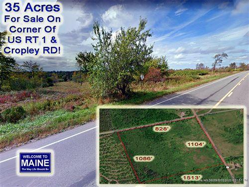 Photo of Lot 4 US RT 1 / Cropley RD Highway, Weston, ME 04424 (MLS # 1430237)