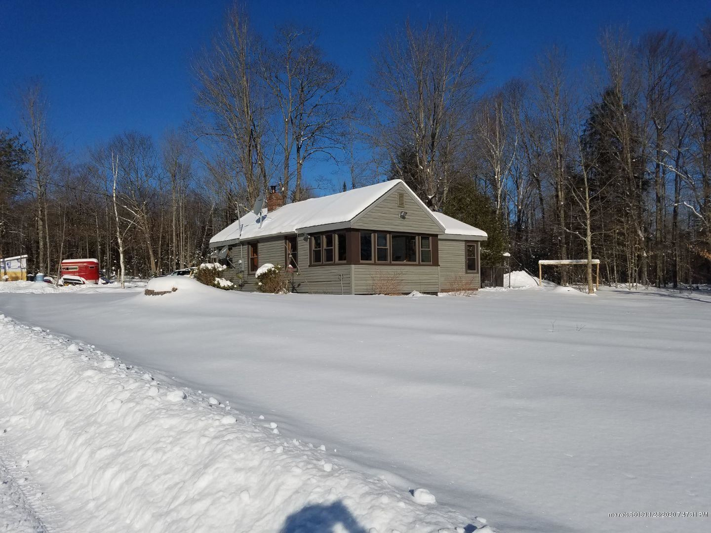 Photo of 343 Town Farm Road, Anson, ME 04911 (MLS # 1443282)