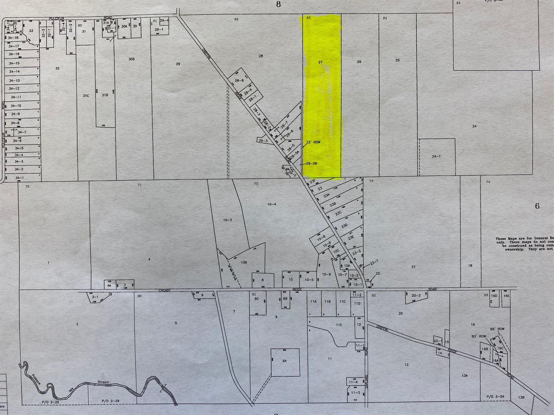 Photo of M5 Lt27 Griffin Ridge Road, Mapleton, ME 04757 (MLS # 1507305)